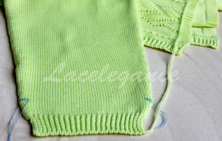 как сшивать вязаные изделия вязание спицами своими руками