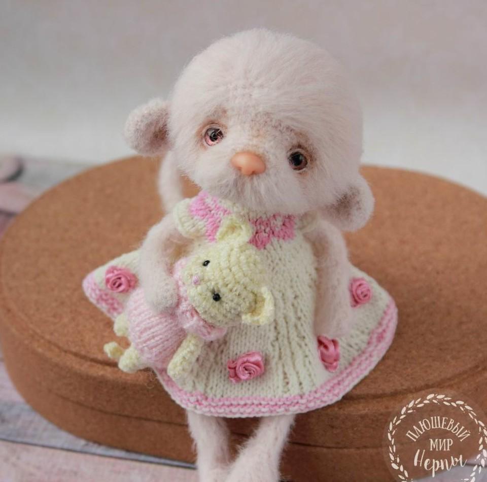 вяжем крючком мини игрушку кошку вязание крючком своими руками